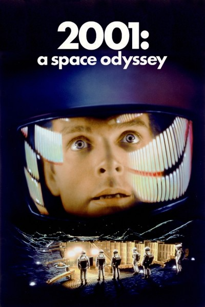 2001: A Space Odyssey movie cover / DVD poster