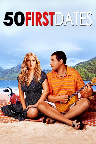 50 First Dates movie cover / DVD poster