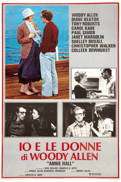 Annie Hall movie cover / DVD poster