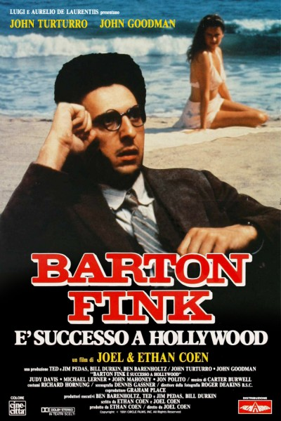 Barton Fink movie cover / DVD poster