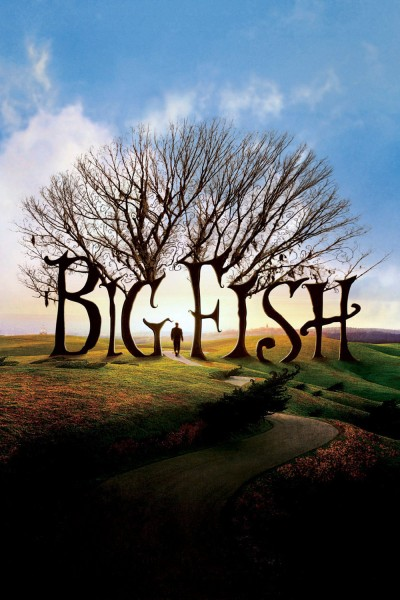 Big Fish movie cover / DVD poster