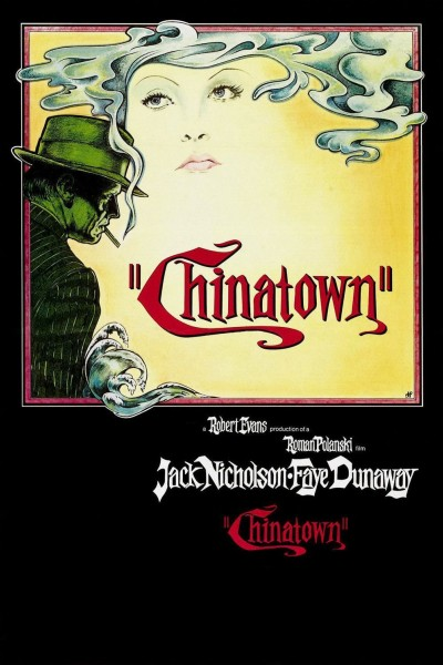 Chinatown movie cover / DVD poster