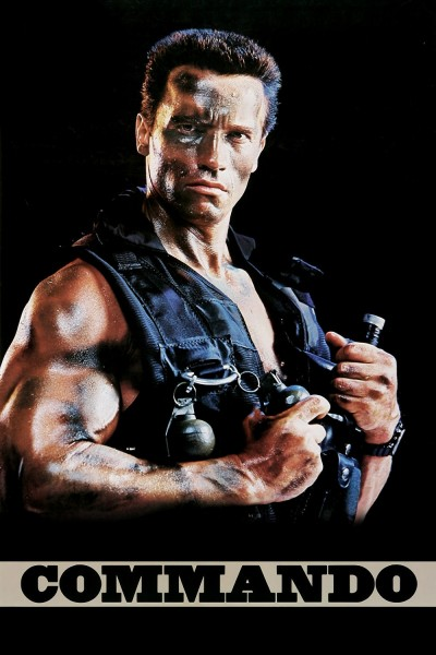 Commando movie cover / DVD poster