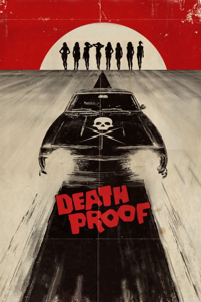 Death Proof movie cover / DVD poster