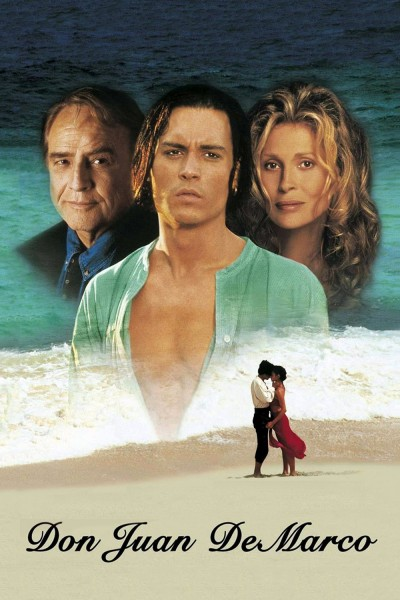 Don Juan DeMarco movie cover / DVD poster