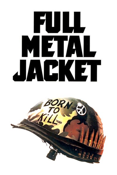 Full Metal Jacket movie cover / DVD poster