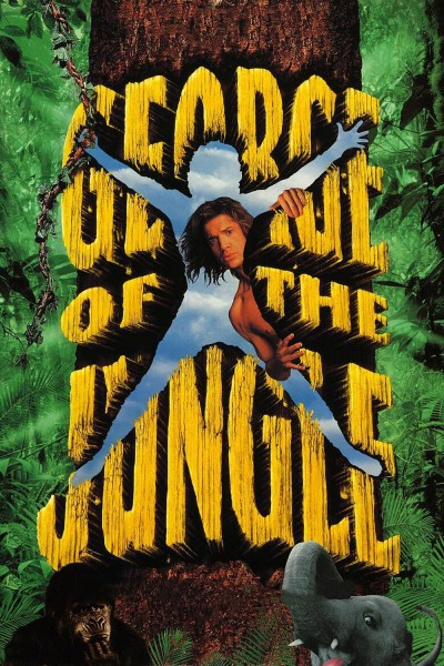 George of the Jungle movie cover / DVD poster