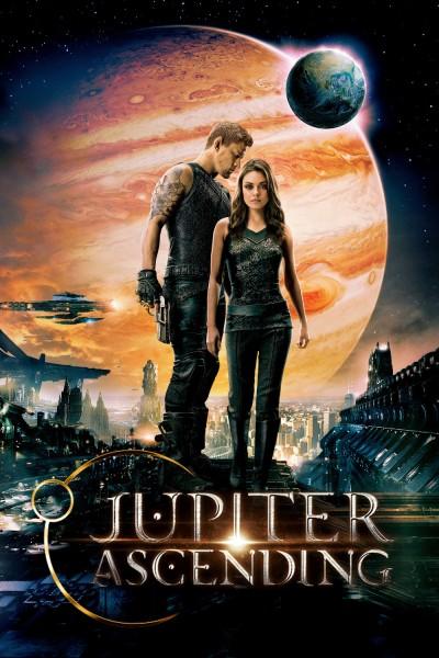 Jupiter Ascending movie cover / DVD poster