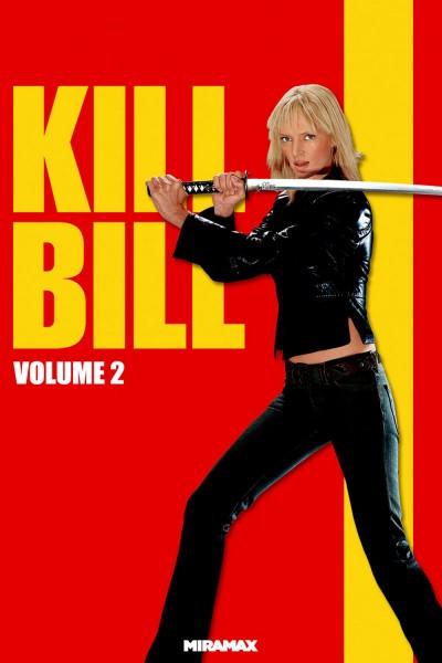 Kill Bill: Vol. 2 movie cover / DVD poster