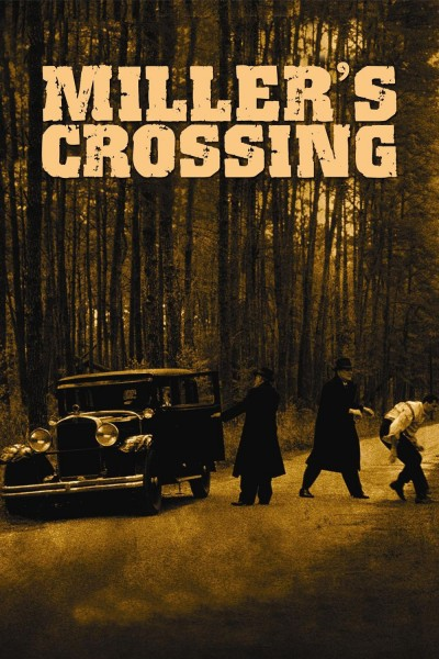 Miller's Crossing movie cover / DVD poster