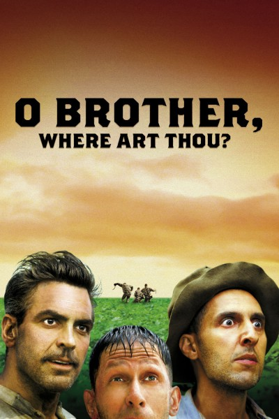 O Brother, Where Art Thou? movie cover / DVD poster
