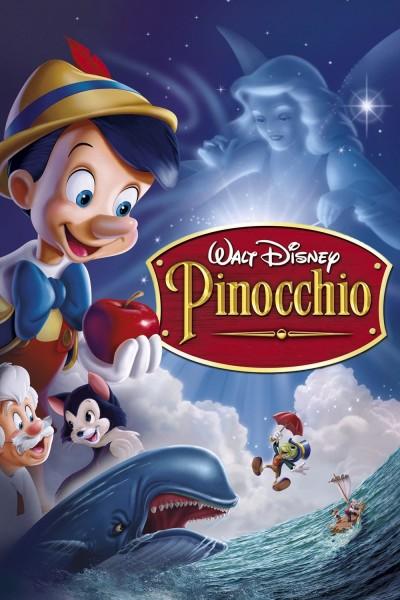 Pinocchio movie cover / DVD poster
