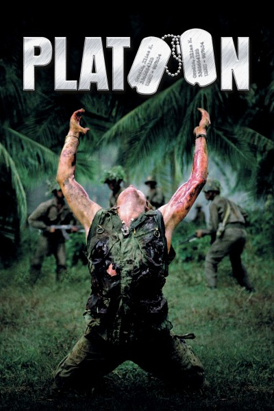 Platoon movie cover / DVD poster
