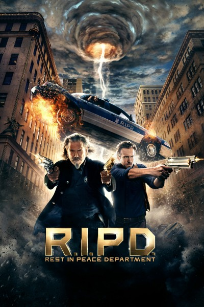 R.I.P.D. movie cover / DVD poster