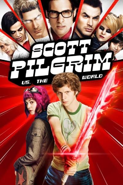 Scott Pilgrim vs. the World movie cover / DVD poster