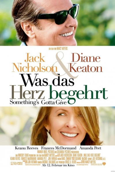 Something's Gotta Give movie cover / DVD poster