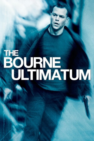 The Bourne Ultimatum movie cover / DVD poster