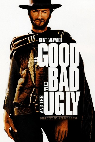 The Good, the Bad and the Ugly movie cover / DVD poster