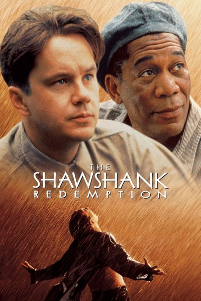 The Shawshank Redemption movie cover / DVD poster