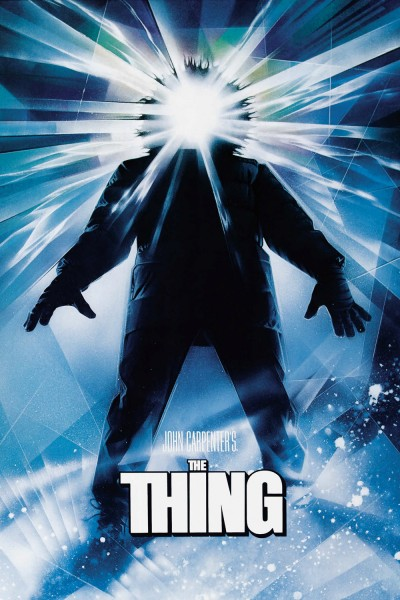 The Thing movie cover / DVD poster