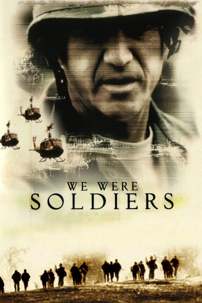 We Were Soldiers movie cover / DVD poster