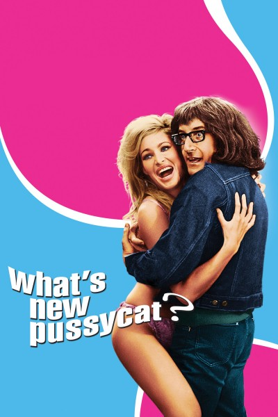 What's New Pussycat? movie cover / DVD poster